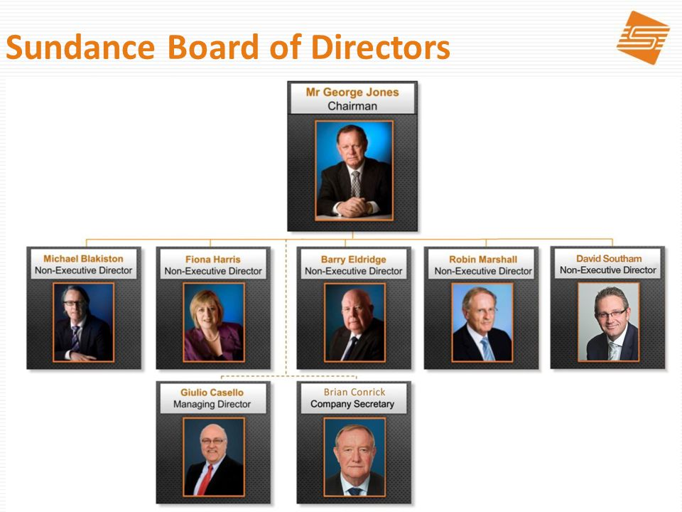 2 Sundance Board of Directors