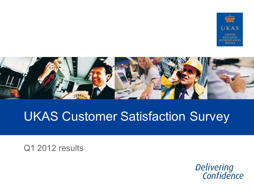 UKAS Customer Satisfaction Survey Q1 2012 results