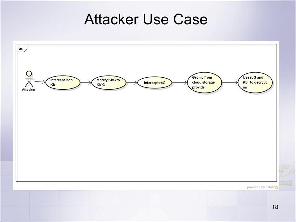 Attacker Use Case 18