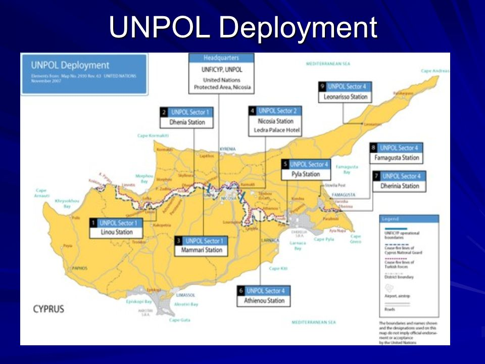 UNPOL Deployment