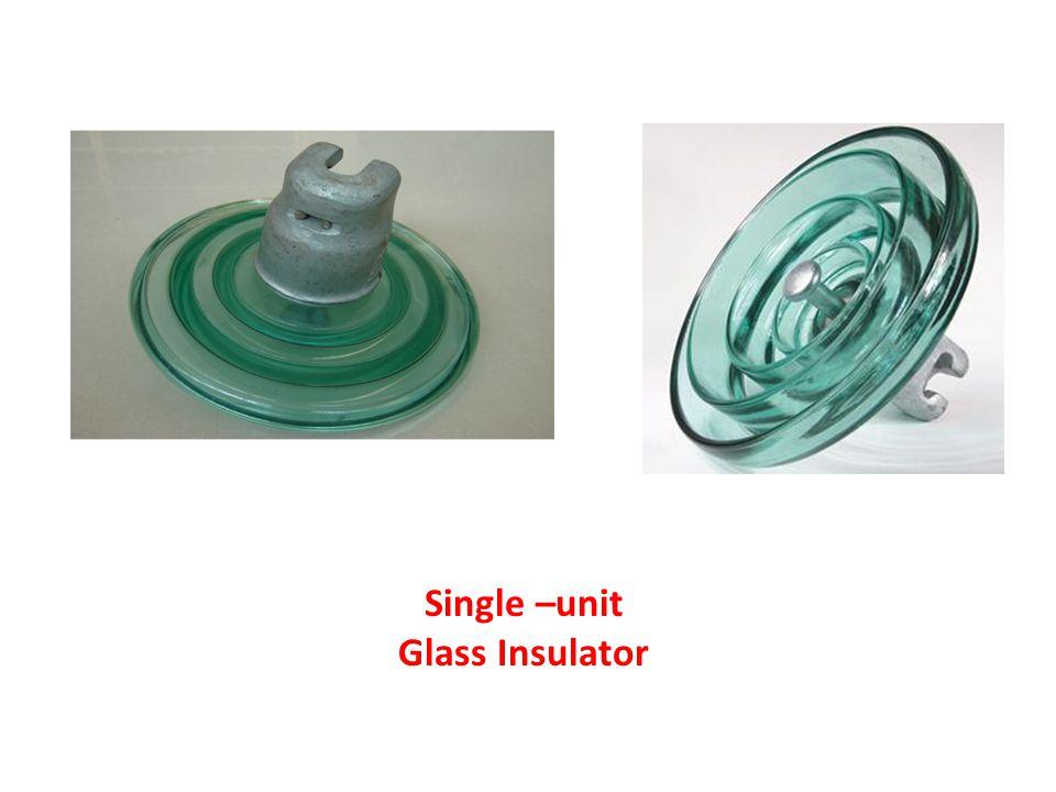Single –unit Glass Insulator