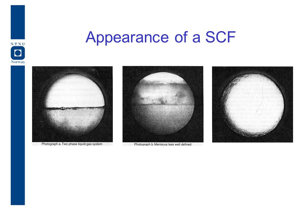 Appearance of a SCF