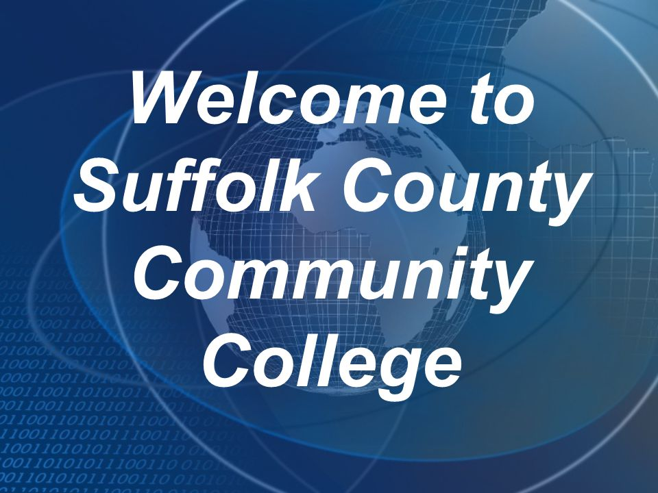 Welcome to Suffolk County Community College