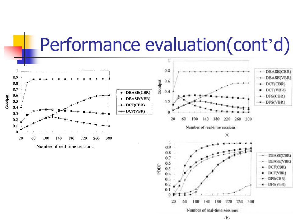 26 Performance evaluation(cont d)