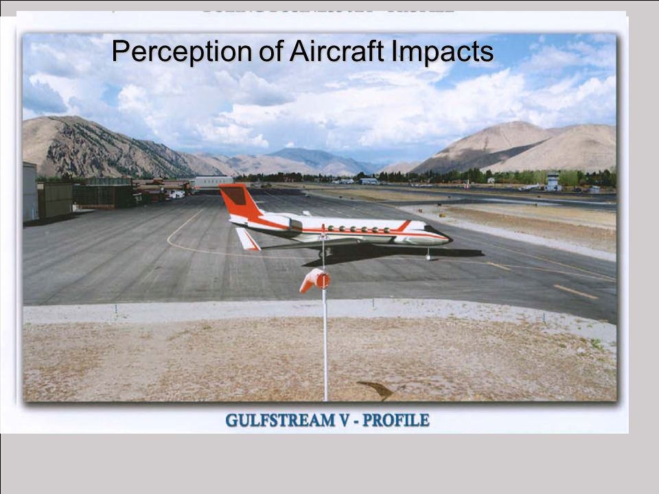 Perception of Aircraft Impacts
