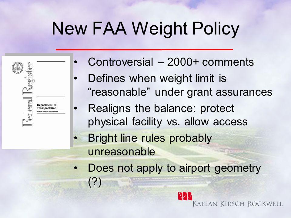 FAA Airports The New Balance