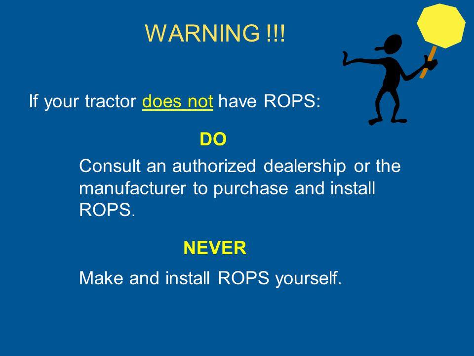 Where Do I Buy ROPS.