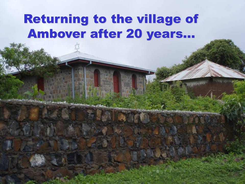 Partnering with purpose, all over the world. Returning to the village of Ambover after 20 years…