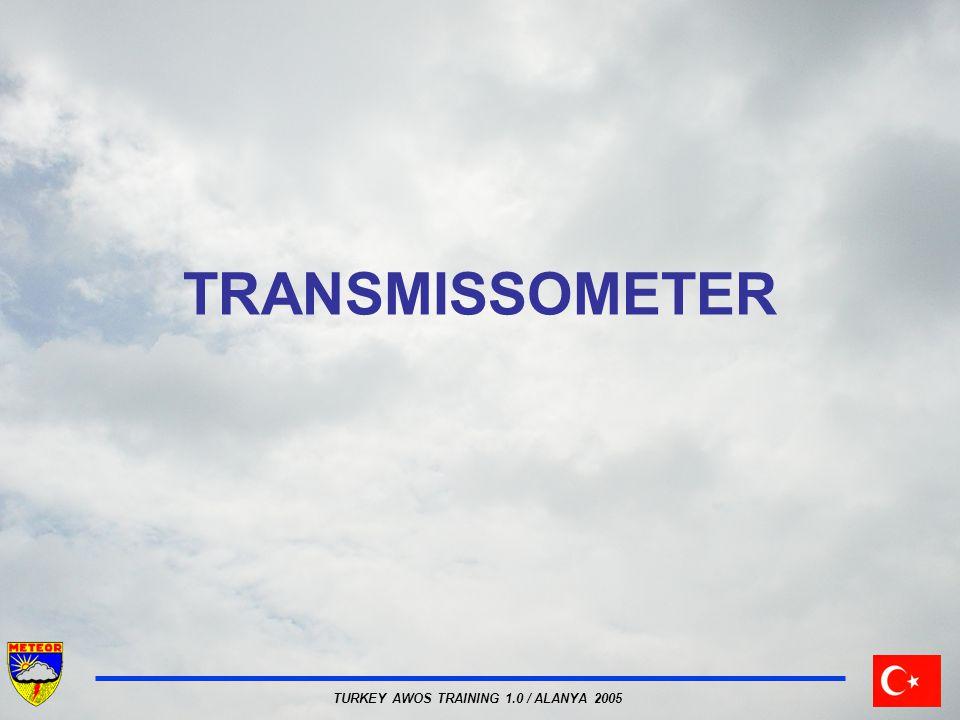 TURKEY AWOS TRAINING 1.0 / ALANYA 2005 TRANSMISSOMETER