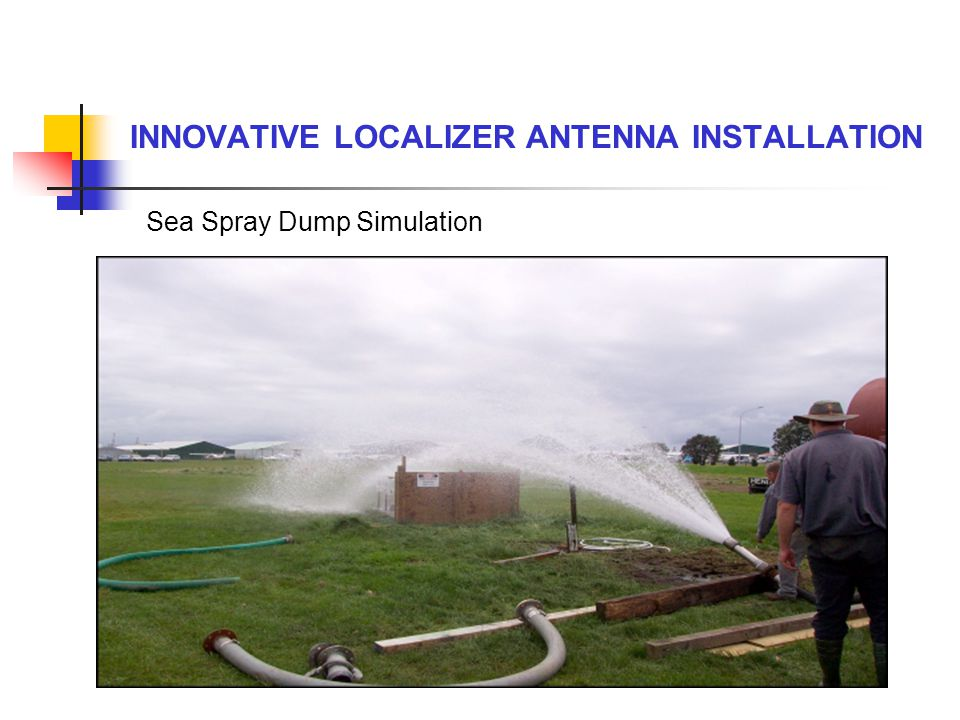 Sea Spray Dump Simulation