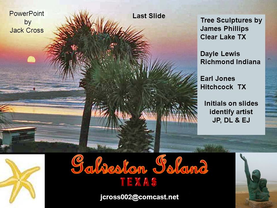 Galveston Island Tree Conservancy in conjunction with the Galveston Island Tree Committee efforts to Re-Green Galveston island after hurricane Ike have resulted in planting and giving away 5,000 trees in 2009-2010.