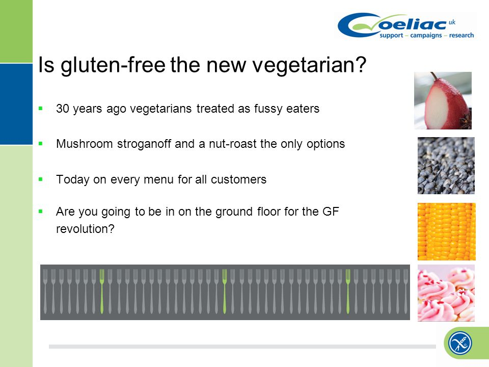 Is gluten-free the new vegetarian.