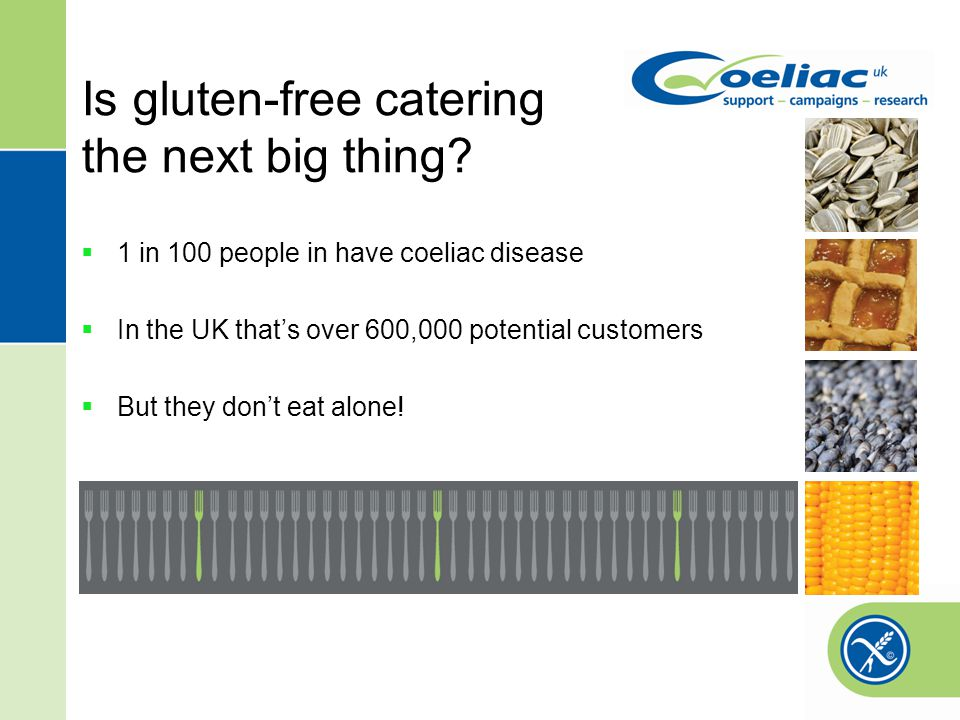 Is gluten-free catering the next big thing.