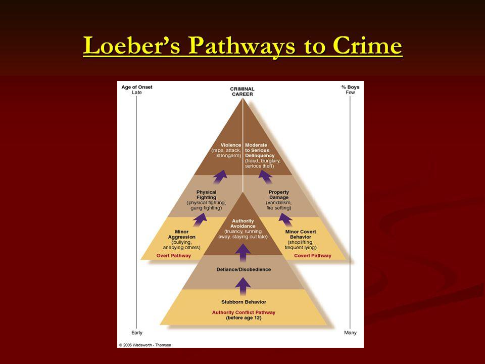 Loebers Pathways to Crime