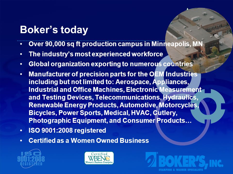 www.bokers.comwww.bokers.com | sales@bokers.com 3104 Snelling Ave., Minneapolis, MN 55406 Toll free phone: (800) 927-4377 | Fax: (800) 321-3462 Local phone: (612) 729-9365 | Fax: (612) 729-8910