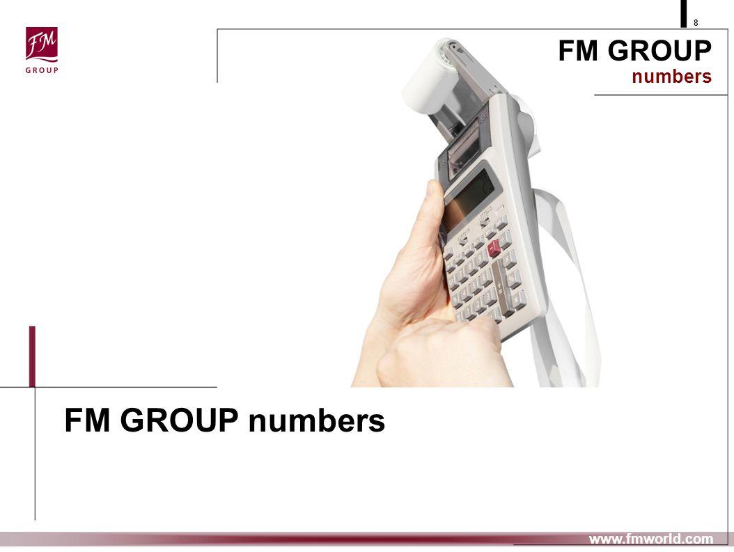 prezentujemy FM GROUP numbers 8 www.fmworld.com FM GROUP numbers