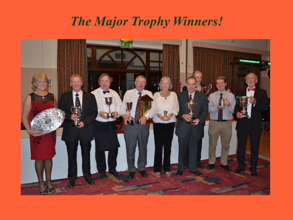 The Major Trophy Winners!