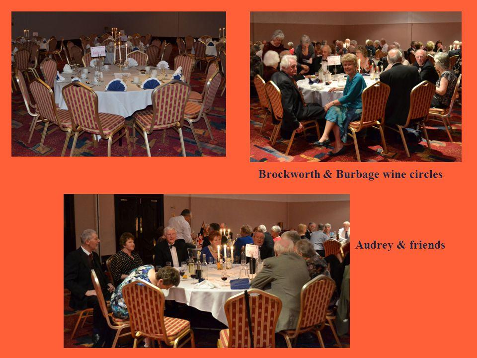 Brockworth & Burbage wine circles Audrey & friends