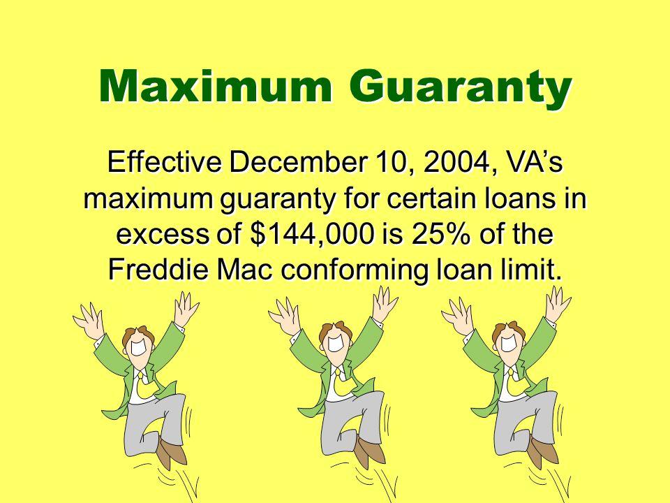 Maximum Guaranty