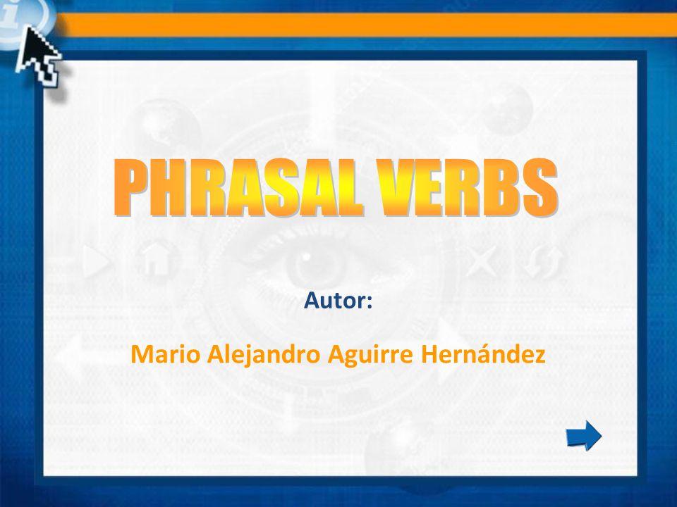 Mario Alejandro Aguirre Hernández Autor: