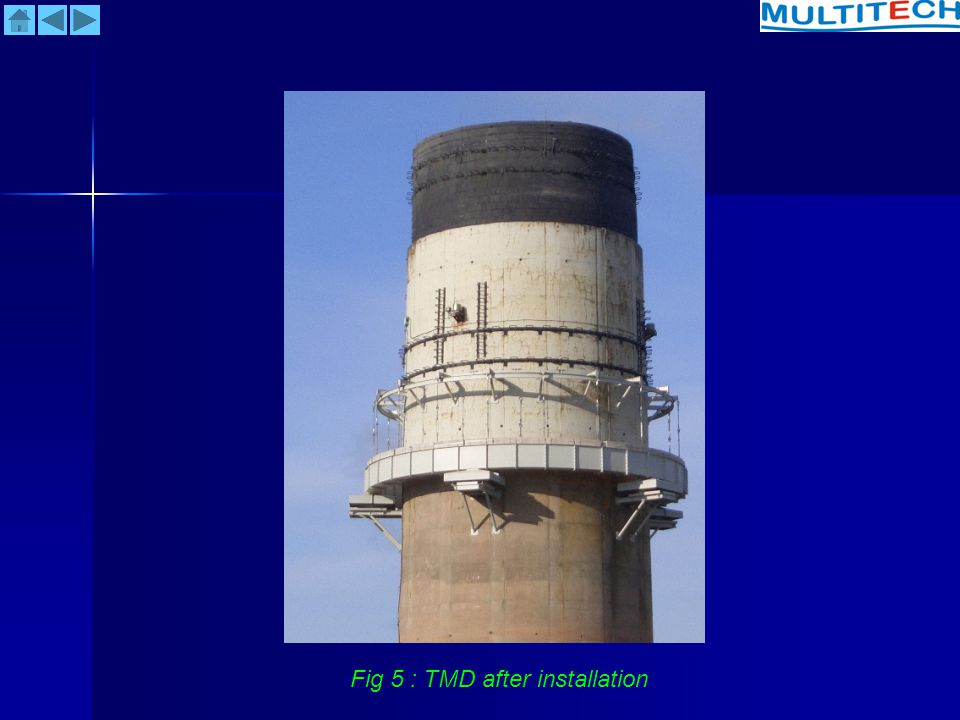 Fig 5 : TMD after installation