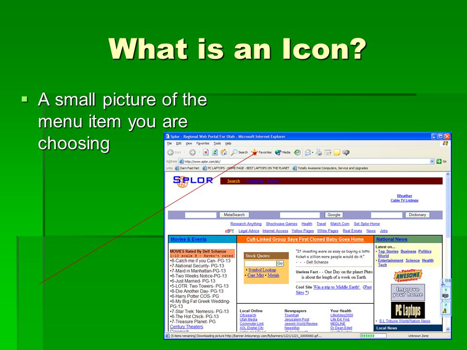 What is an Icon.