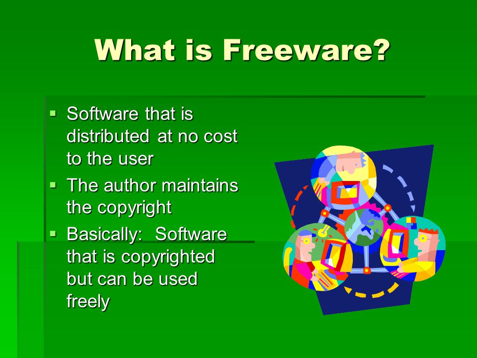 What is Freeware.