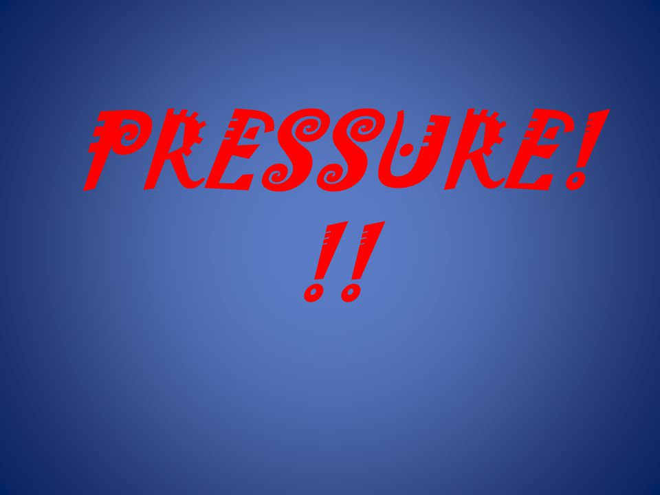 Everything wants to be equal! Pressure on the outside >>>> pressure on the inside So when the can is heated, the can is crushed! Why?????