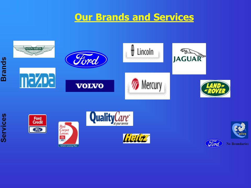 No Boundaries Brands Services Our Brands and Services