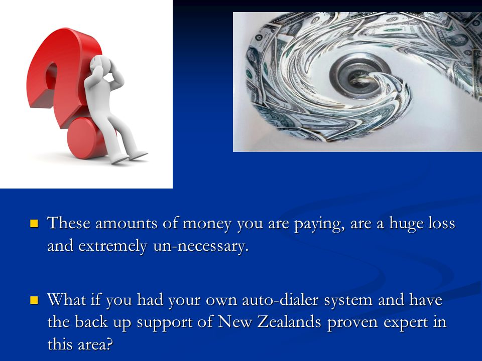 These amounts of money you are paying, are a huge loss and extremely un-necessary. These amounts of money you are paying, are a huge loss and extremel