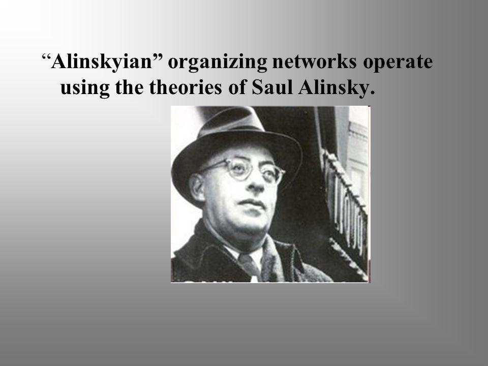 Top Alinskyian organizers trained Obama.