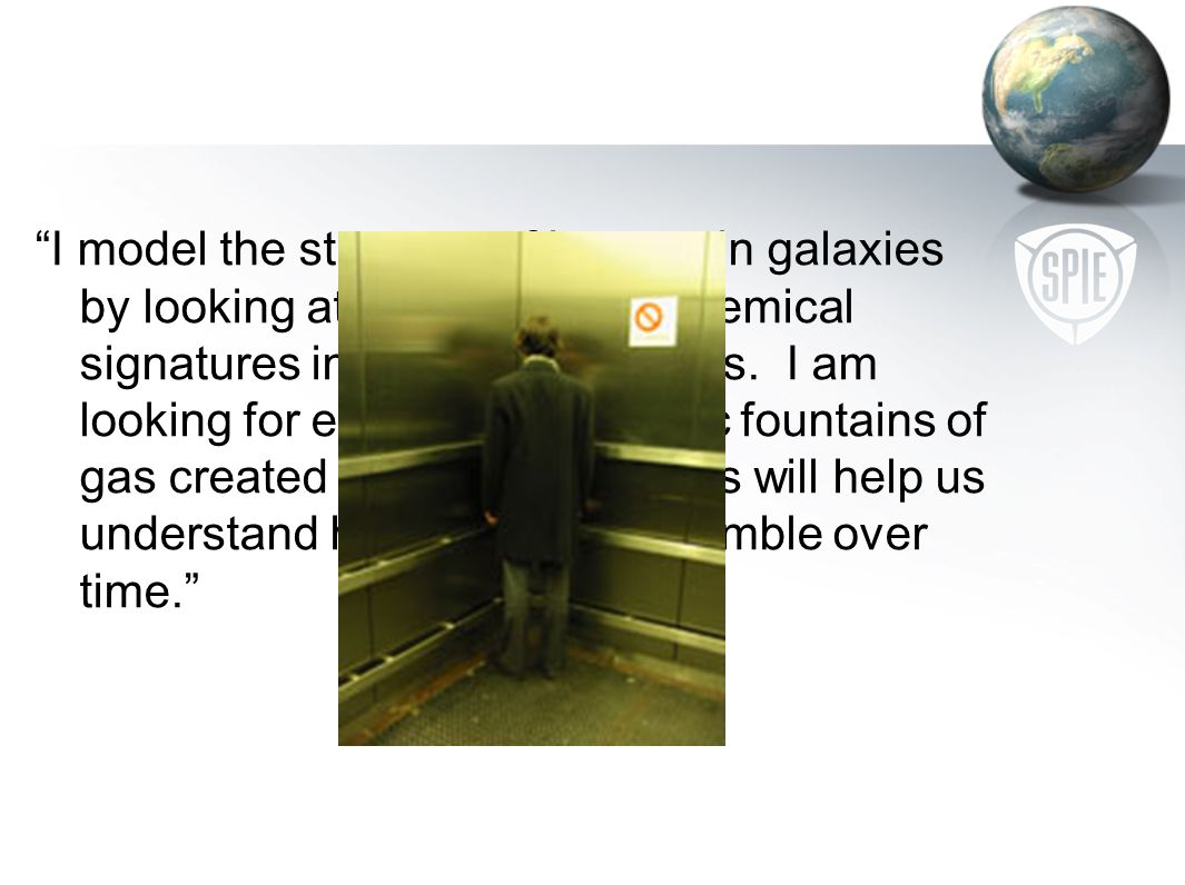 Elevator talk challenges Being brief Knowing your audience Explaining without notes, jargon, acronyms Establishing your credibility Helping the listen