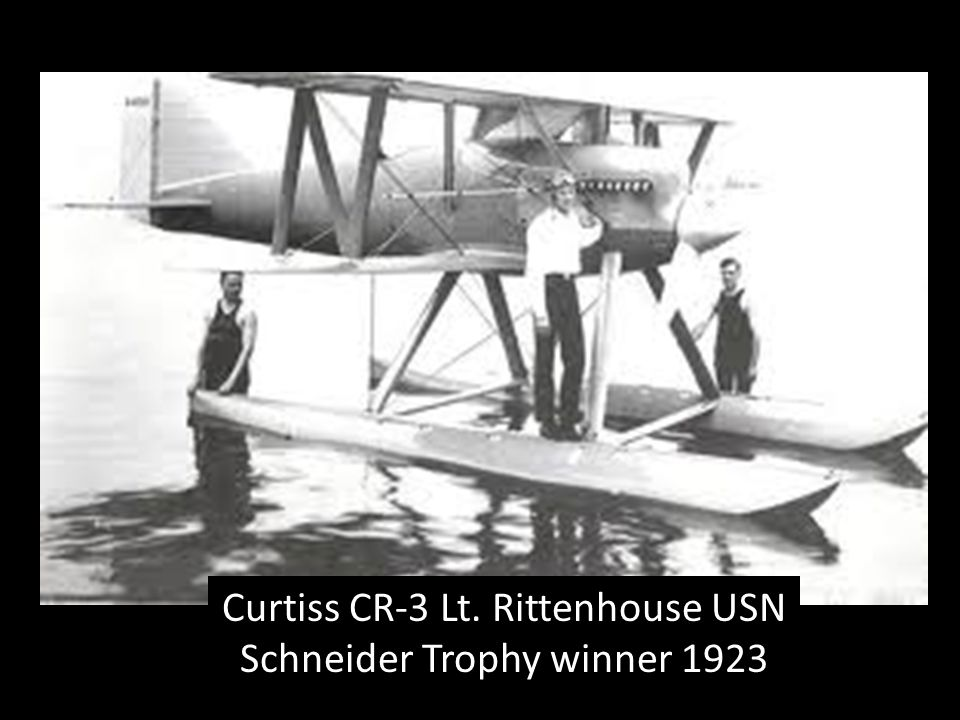 Curtiss CR-3 Lt. Rittenhouse USN Schneider Trophy winner 1923