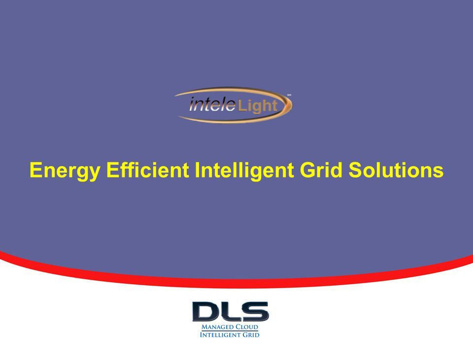 Energy Efficient Intelligent Grid Solutions