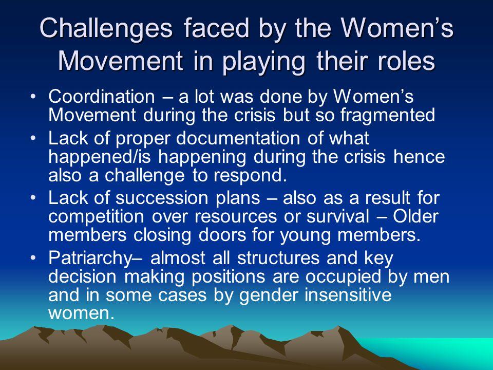 Challenges contd.