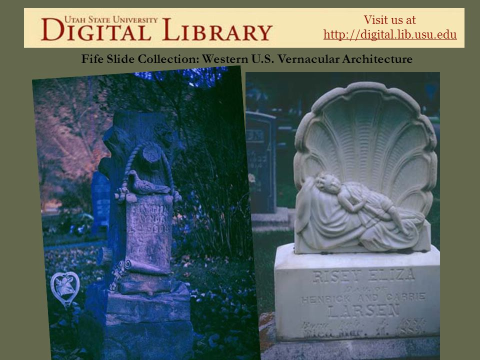 Visit us at http://digital.lib.usu.edu Fife Slide Collection: Western U.S. Vernacular Architecture