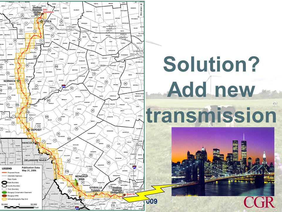 Annual Policy Conference 2009 Solution? Add new transmission