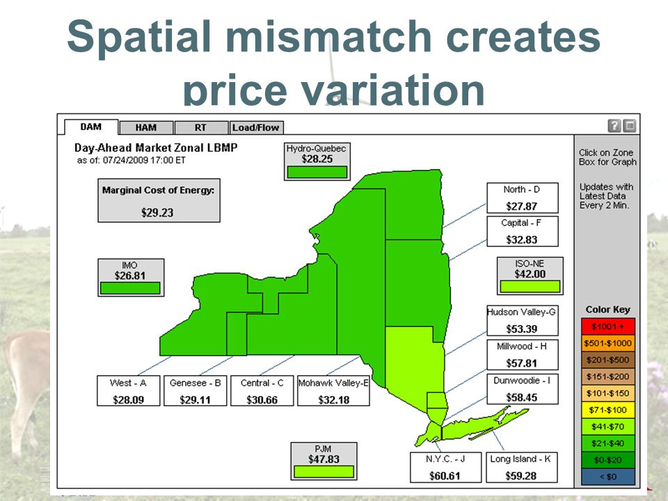 Annual Policy Conference 2009 Spatial mismatch creates price variation