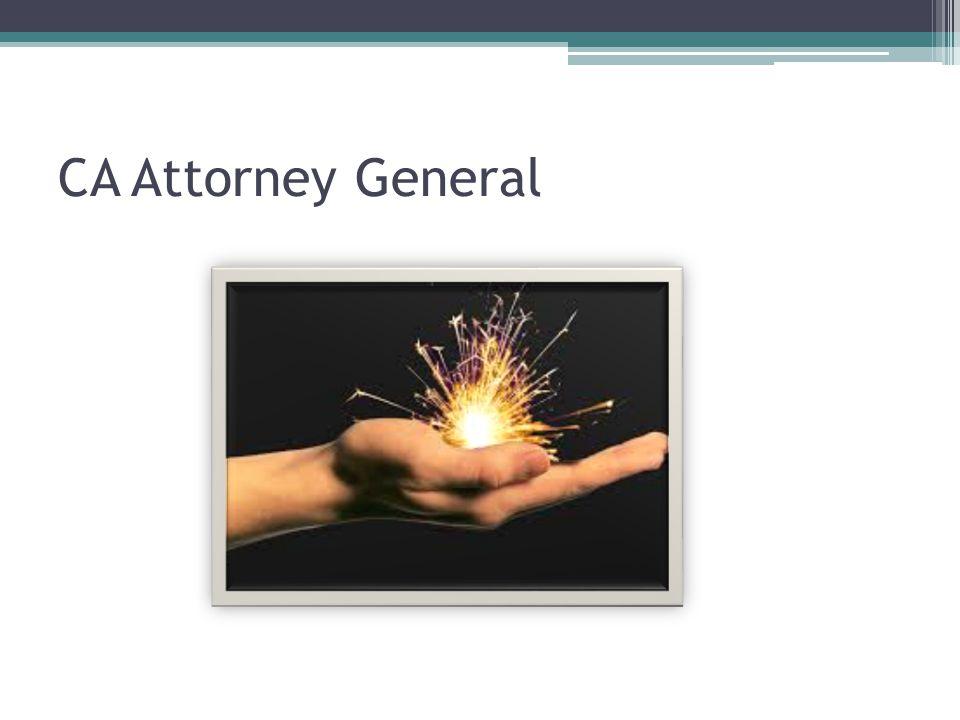 CA Attorney General