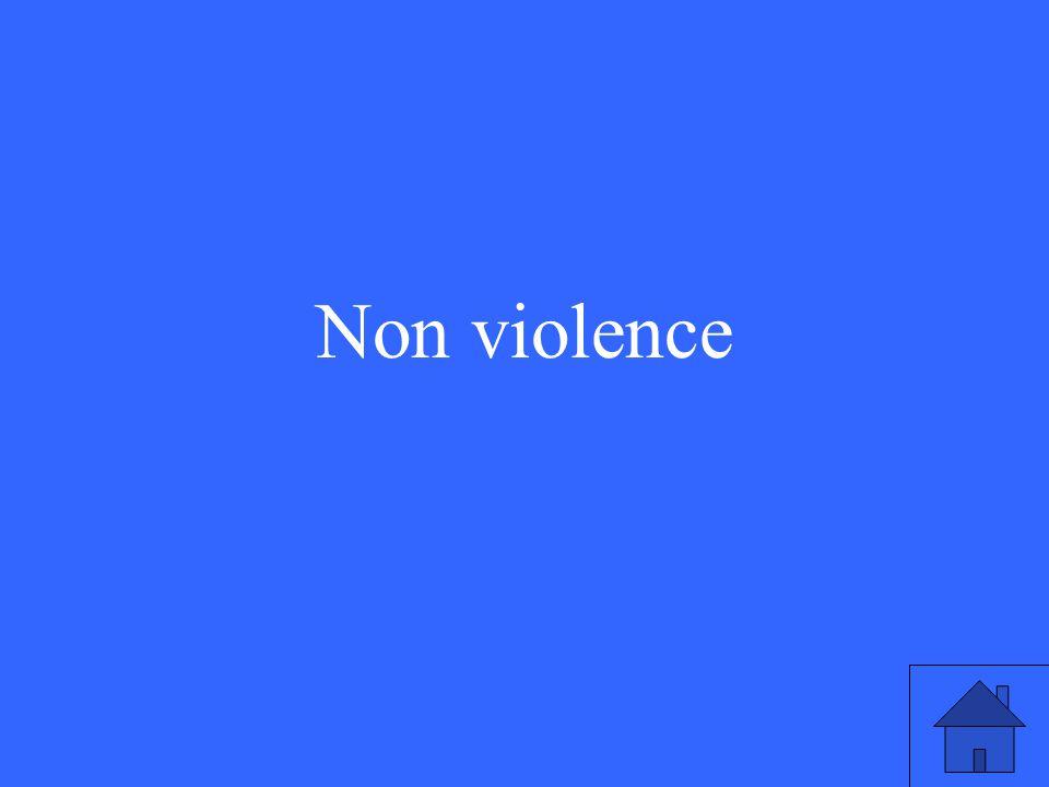 39 Non violence