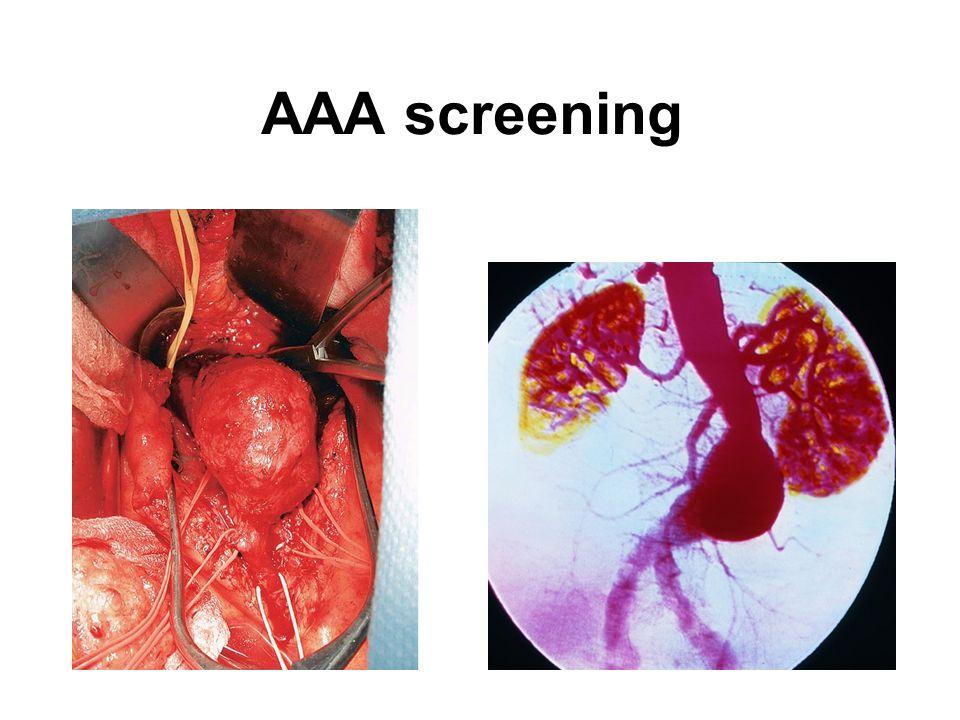 AAA screening