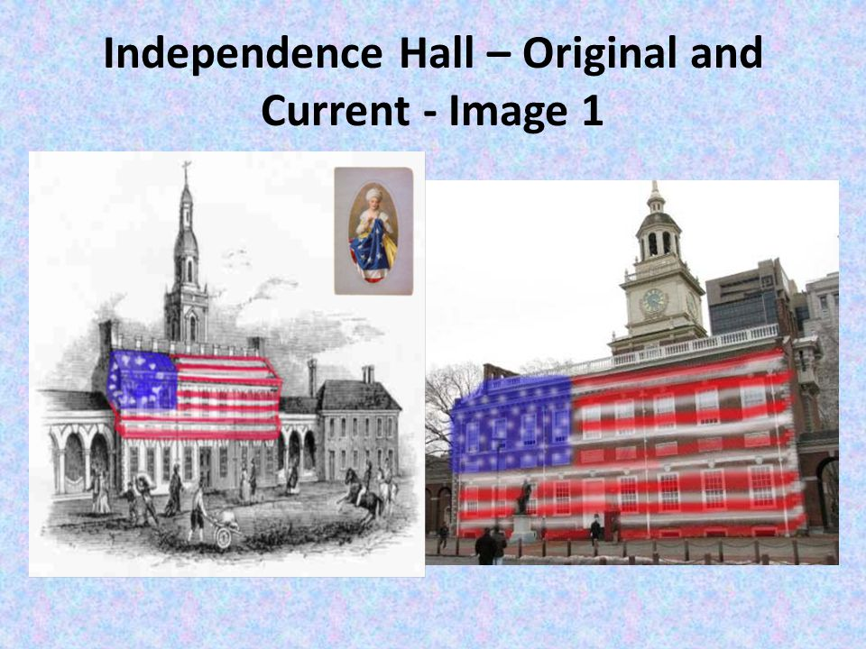Independence Hall – Original and Current - Image 1