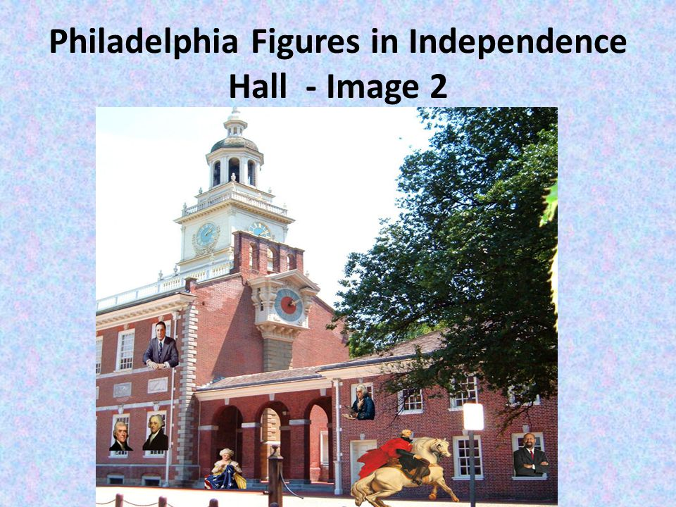 Philadelphia Figures in Independence Hall - Image 2
