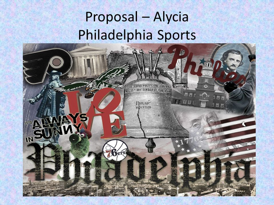 Proposal – Alycia Philadelphia Sports