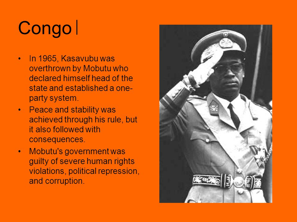 Congo He changed the country s name to Zaire, changed the name of several cities, and even his own to Mobuto Sese Seko, which means the all- powerful warrior.