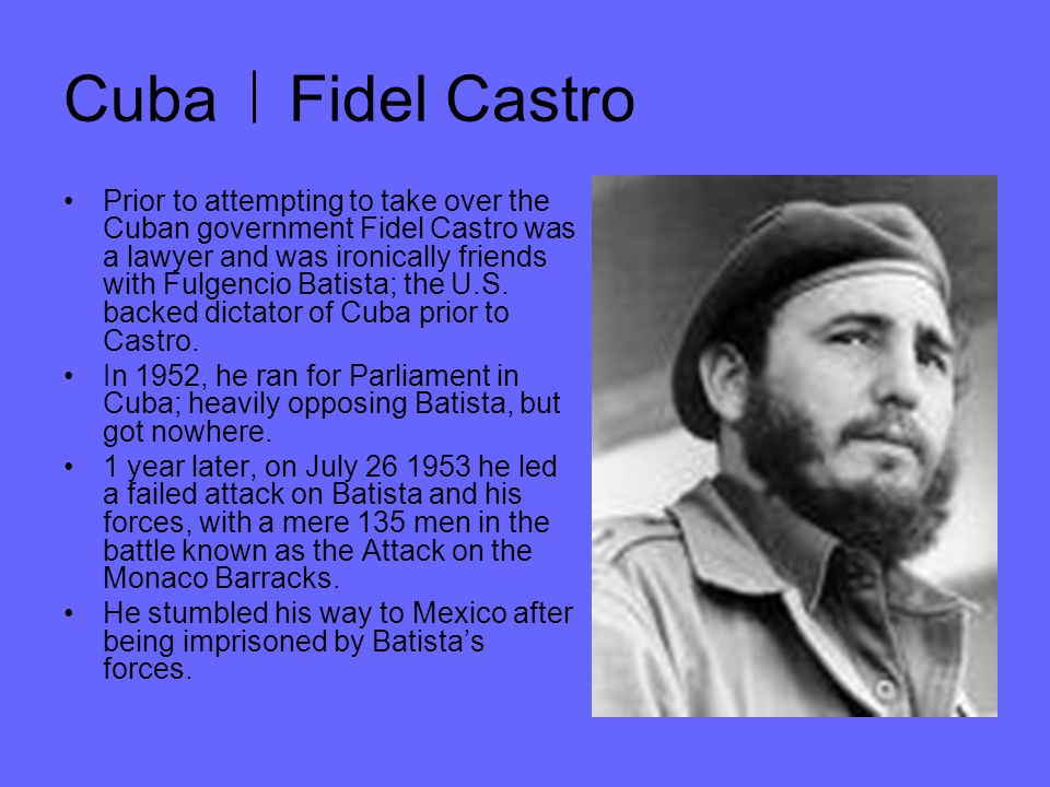 Cuba Fidel Castro In Mexico, Castro formed an underground network of supporters which included renound guerilla warfare expert Che Guevara and his brother Raul Castro.