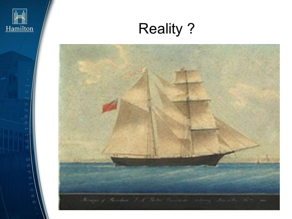 Reality ?