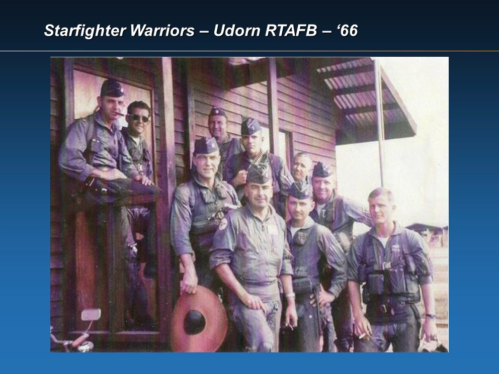 Starfighter Warriors – Udorn RTAFB – 66