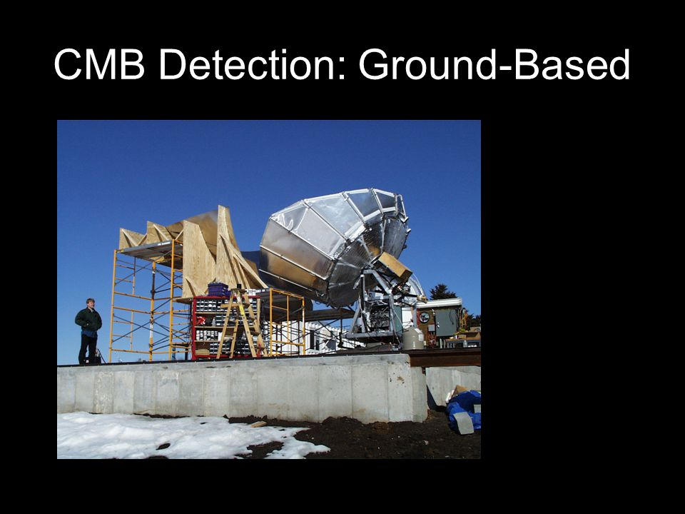 CMB Detection: Ground-Based