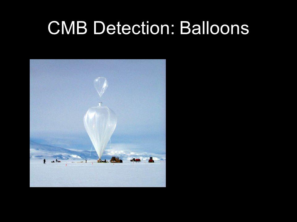 CMB Detection: Balloons